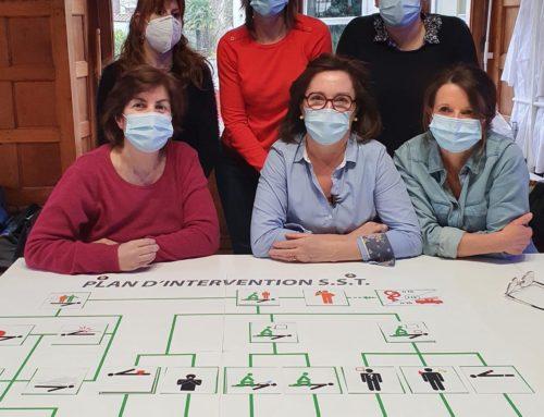 Des employés du secteur privé se forment aux premiers secours avec le BSC